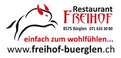 Hauptsponsor Freihof Bürglen